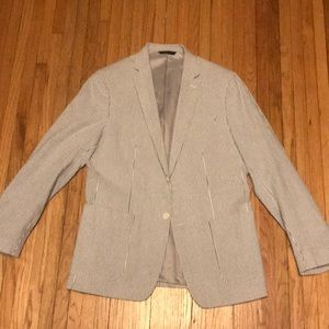 Banana Republic Seersucker Sportcoat
